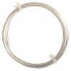 German Style Wire Round Silver Plated 18ga 4M(13ft)